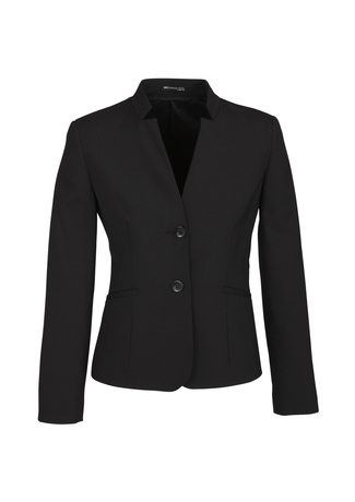 64013_Black_Short_Jacket_with_Reverse_Lapel