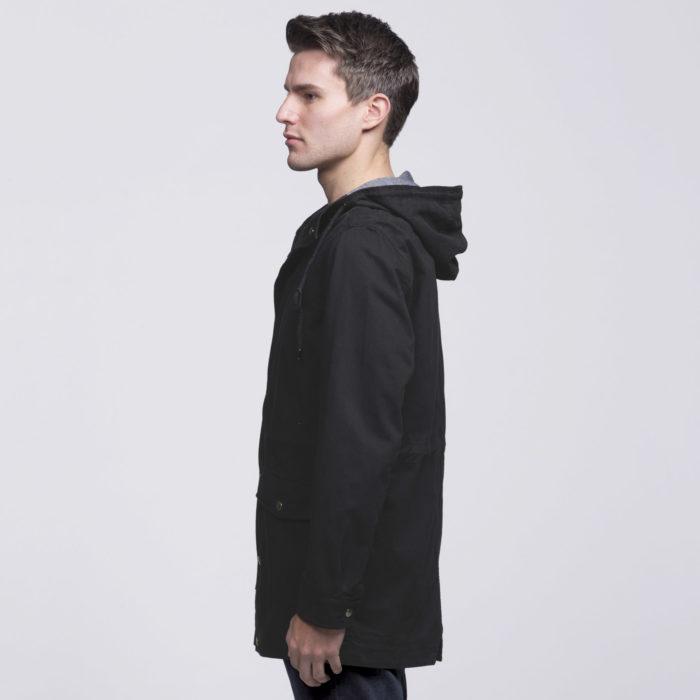 smpli-mens-black-heritage-twill-jacket-left