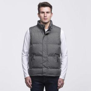 smpli-mens-grey-melange-basin-puffa-jacket-front