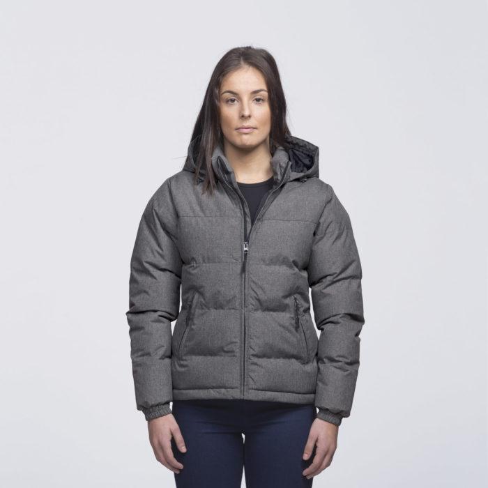 smpli-womens-grey-melange-invert-puffa-jacket-front