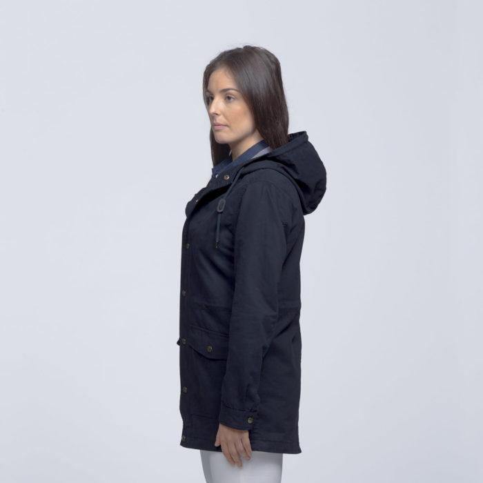 smpli-womens-navy-heritage-twill-jacket-left