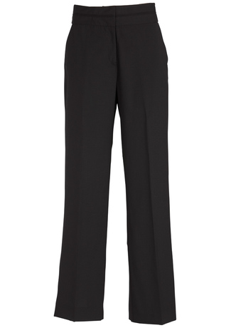14016_Black_Mid_Rise_Piped_Band_Pant