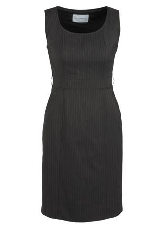 30211_Charcoal_Sleeveless_Side_Zip_Dress