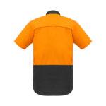 ZW815_OrangeCharcoal_Back