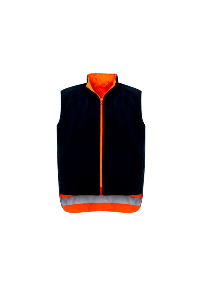 ZJ615_OrangeNavy_VestReverse_Front