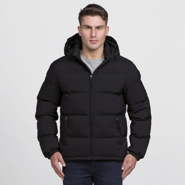 smpli-mens-black-edge-puffa-jacket-front