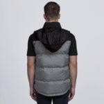 smpli-mens-grey-melange-axle-puffa-vest-back-hood-out