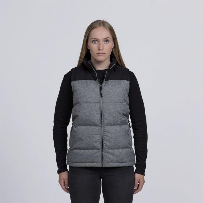 smpli-womens-grey-melange-axle-puffa-vest-front