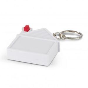 House Tape Measure Key Ring