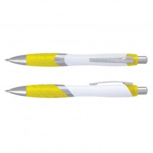 Borg Pen - White Barrel