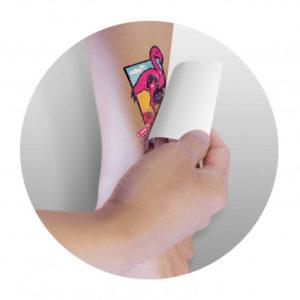Temporary Tattoo Glitter - 51mm x 76mm
