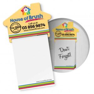 Magnetic House Memo Pad