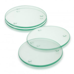 Venice Glass Coaster Set of 4 - Round