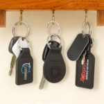 Prince Leather Key Ring - Round